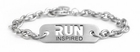 "ATHLETE INSPIRED ""RUN"" Chain Bracelet"