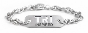 "ATHLETE INSPIRED ""TRI"" Chain Bracelet"