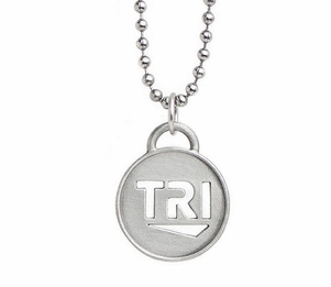 "ATHLETE INSPIRED ""TRI"" Pendant Necklace"