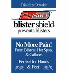 2Toms BlisterShield Foot Powder   Trial Size