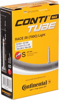 Continental Conti Race Light Tube - 650 and 700 (42mm, 60mm, 80mm valve)