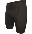 De Soto Men's Forza Tri Short with 4mm Ceramico Pad