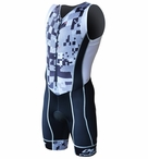 De Soto Men's Forza Trisuit with 4mm Ceramico Pad