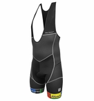 De Soto Men's Riviera Tri Bib with 7mm Ceramico Pad