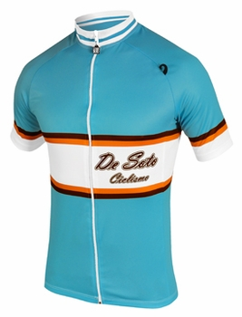 De Soto Men's Skin Cooler Bike Jersey