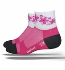 DeFeet Aireator Pink Passion Socks