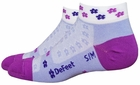 DeFeet SpeeDe Violet Femmes Socks