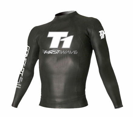 Desoto First Wave Concept 5 Pullover Triathlon Wetsuit