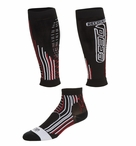 EC3D Hybrid Compression Calf Sleeves & Sock Combo | Unisex