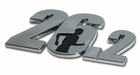 Elektroplate 26.2 Male Runner Car Chrome Emblem