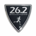 Elektroplate 26.2 Male Shield Car Chrome Emblem