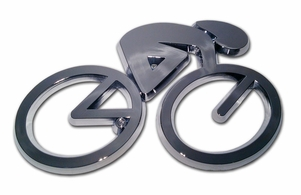 Elektroplate Cycle Chrome Car Emblem