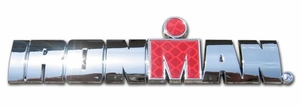 Elektroplate Ironman 3D World Logo Car Chrome Emblem