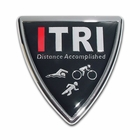 Elektroplate ITri Shield Car Chrome Emblem