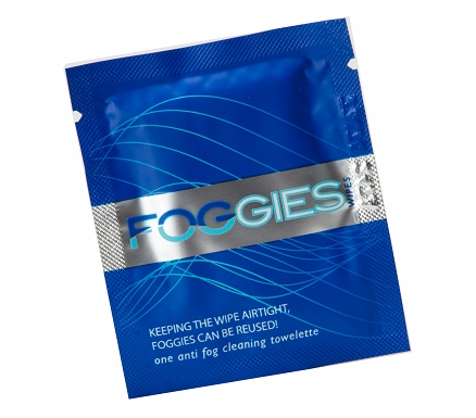 FOGGIES Anti-Fog Cleaning Wipes | Singles