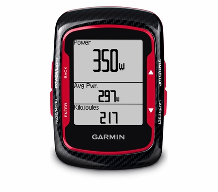 Garmin Edge 500 Red Black Bundle