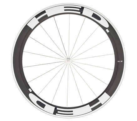 HED Jet 6 Flamme Rouge SCT - Front Wheel