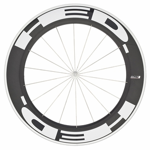 HED Jet 9 Flamme Rouge SCT - Front Wheel