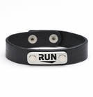 "ATHLETE INSPIRED ""RUN"" Wristband"