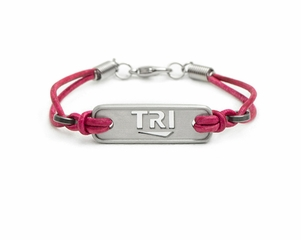"ATHLETE INSPIRED ""TRI"" Plate Bracelet"