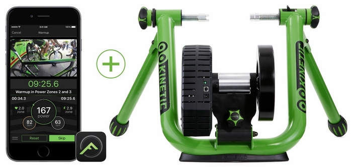 kinetic road machine smart bike trainer