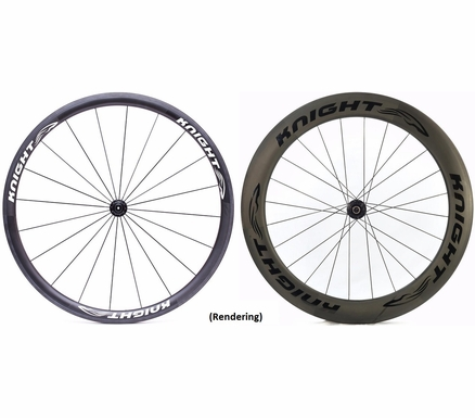 Knight Carbon Wheels Knight 35/65 Carbon Wheelset