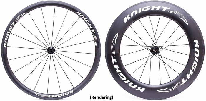 Knight Carbon Wheels Knight 35/95 Carbon Wheelset