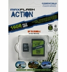 MaxFlash Action HyperSpeed Micro SDHC | 16GB