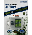 MaxFlash Action HyperSpeed Micro SDHC | 32GB