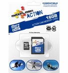 MaxFlash Action Micro SDHC | 16GB