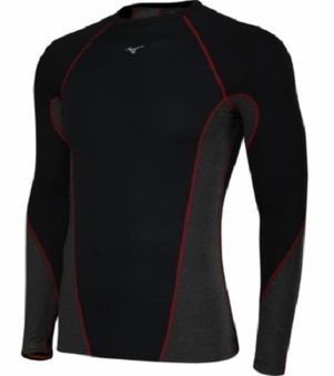 Mizuno Men's Breath Thermo Stretch LS Top