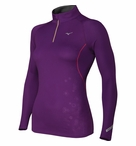 Mizuno Women's Thermo LS 1/2 Zip