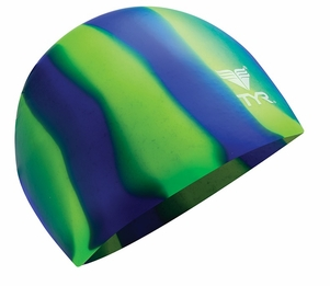 Multi-Color Unisex Silicone Swim Cap