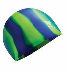 TYR Multi-Color Unisex Silicone Swim Cap