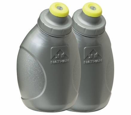 Nathan Push-Pull Cap Flasks | 2 Pack