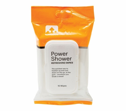 Nathan's Power Shower Wipes