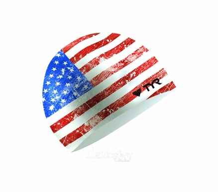 Old Glory Unisex Swim Cap