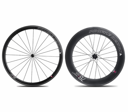 Profile Design 38/78 TwentyFour Series Carbon Clincher Wheelset