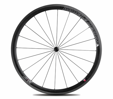 Profile Design 38 TwentyFour Series Carbon Clincher | Front Wheel