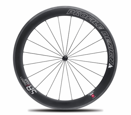 Profile Design 58|TwentyFour Series Carbon Clincher Front Wheel