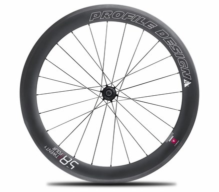Profile Design 58 TwentyFour Series Carbon Clincher | Rear Wheel
