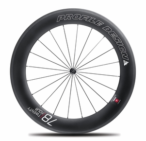 Profile Design 78|TwentyFour Series Carbon Clincher Front Wheel