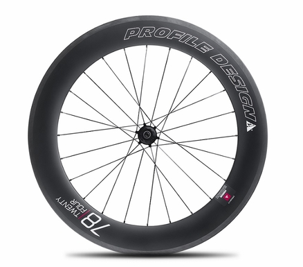 Profile Design 78 TwentyFour Series Carbon Clincher | Rear Wheel