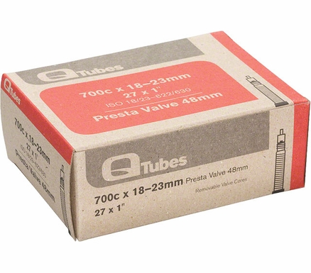 QTube Butyl Tube - 650 and 700 (48mm, 60mm, 80mm valve)