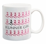 Runner Girl Ceramic Running Coffee Mug
