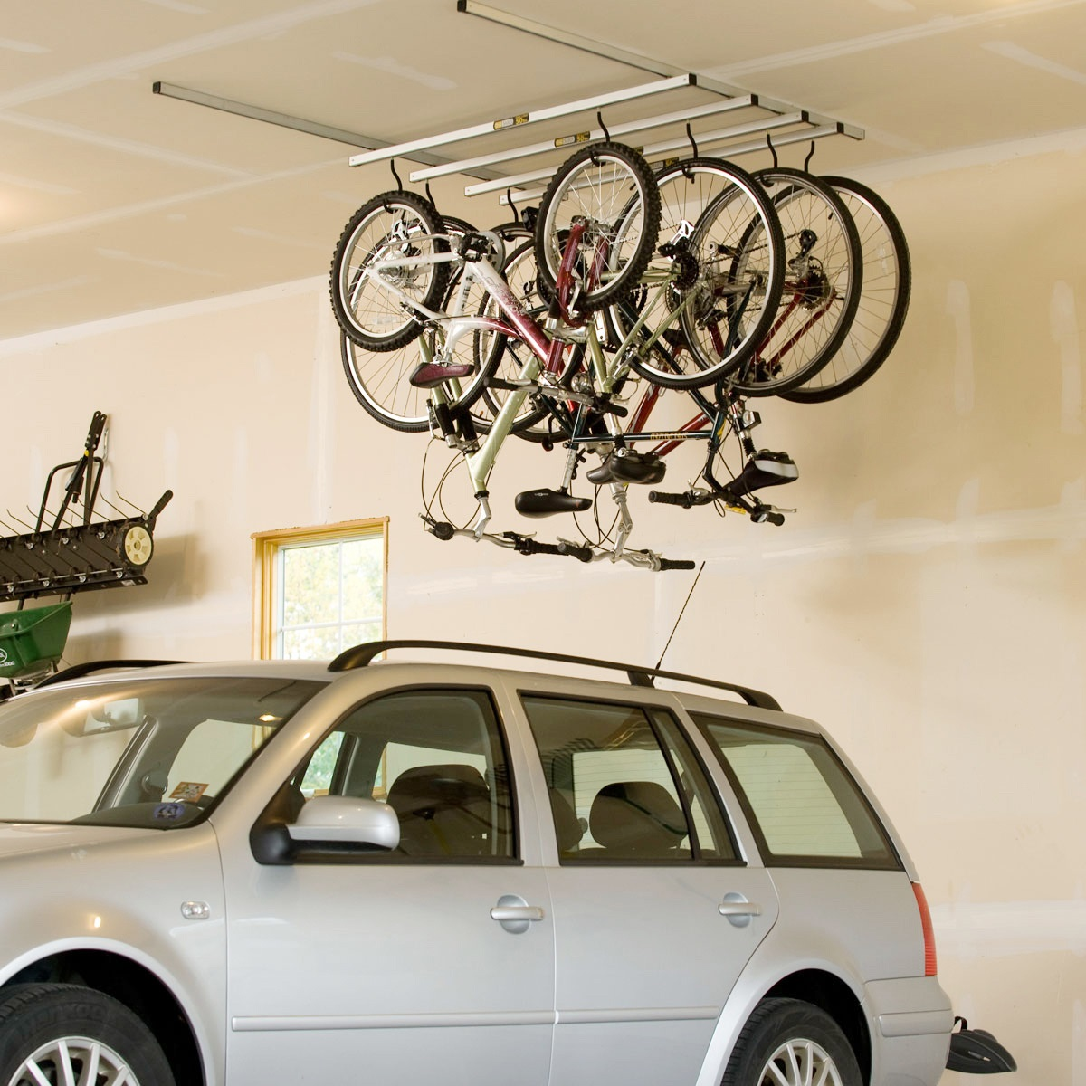 Saris Cycleglide 4 Bike Ceiling Storage System 56 Jpg