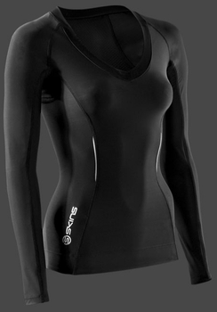 SKINS Women's A200 Long Sleeve Compression Top