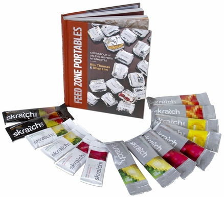 Skratch Labs Sampler &  Feed Zone Portables Book