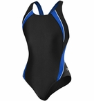 Speedo Women's Taper Splice Pulse Back Swimsuit
