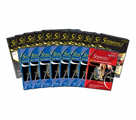 Spinervals Competition Cycling Videos - DVD